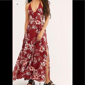 Lillie Printed Maxi Dress